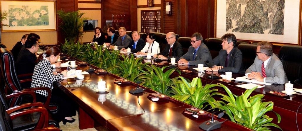国际大豆种植者联盟拜访农业部
